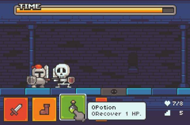 Rush Grotto is a cute, fast-paced, free dungeon crawler