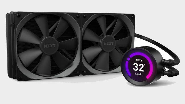 NZXT put a LCD screen in its coolers, and you can customize the image