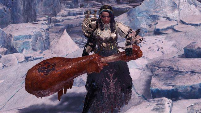 Important: you can now hit things in Monster Hunter: World with a giant meat hammer