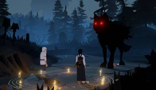 Black Book trailer reveals a shadowy world of Slavic myths and card-based combat