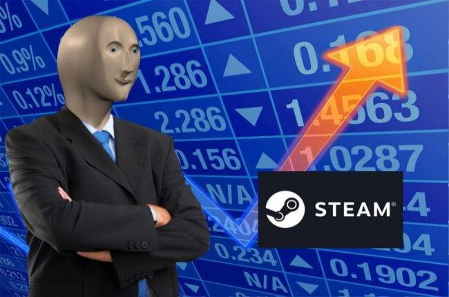 Steam cracks 25M concurrent users as the new year begins