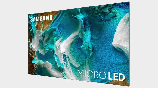 MicroLED displays are heading for CES 2021, but not to your PC