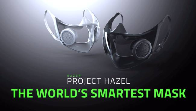 Project Hazel is Razer's mask for 'the new normal'