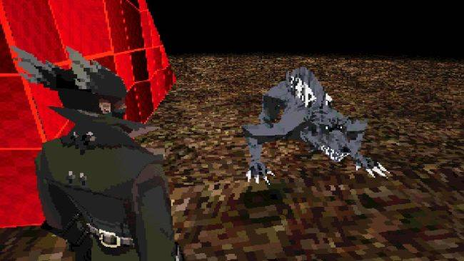 Bloodborne PSX is a lo-fi demake of the Fromsoftware slasher