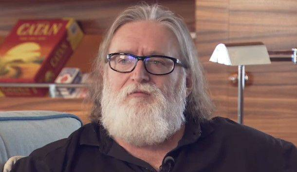Gabe Newell says Valve has 'games in development that we're going to be announcing'