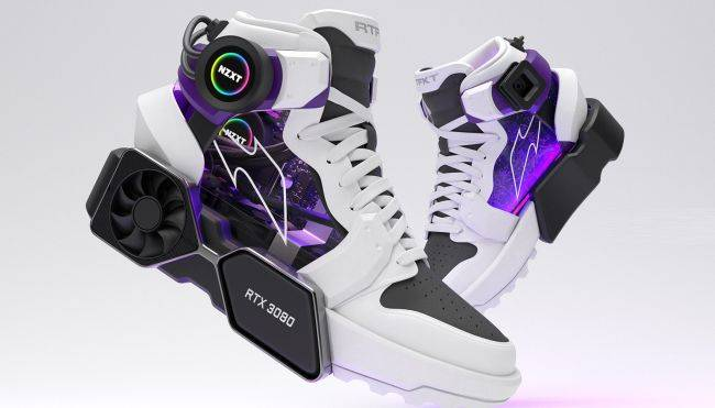 These shoes are an RTX 3080-powered PC