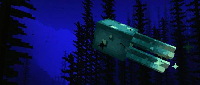 Minecraft gets glowing squids in its new Caves & Cliffs snapshot