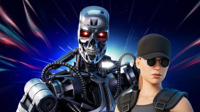 The Terminator and Sarah Connor are in Fortnite now