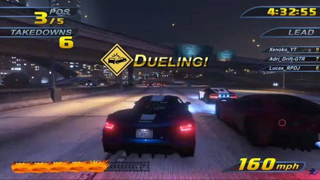 Here's what Burnout 3: Takedown looks like inside Grand Theft Auto V