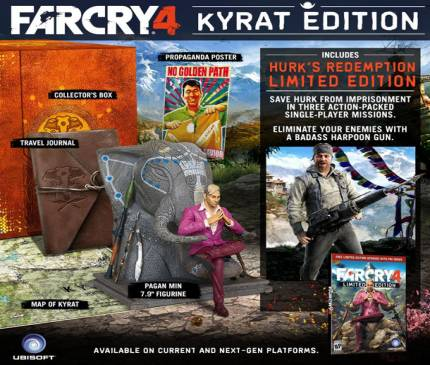 Far Cry 4 Kyrat Edition Includes Pagan Min Statue
