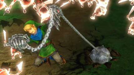 Link's Power Gloves Came In Like A Wrecking Ball