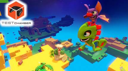 Test Chamber – Playing In Yooka-Laylee's Toybox And Banjo-Kazooie Comparisons