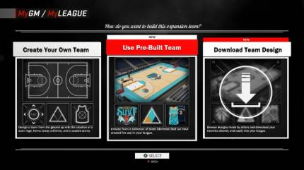 League Expansion Coming To NBA 2K17