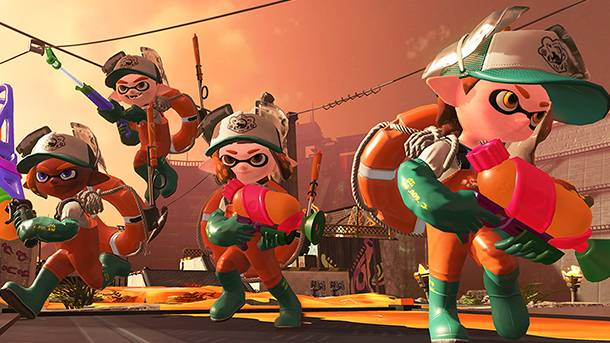 Watch Us Get Eaten In Splatoon 2's Salmon Run Horde Mode