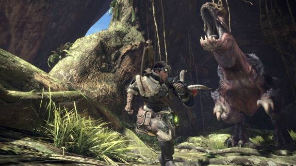 20 Minutes Of Monster Hunting On Display
