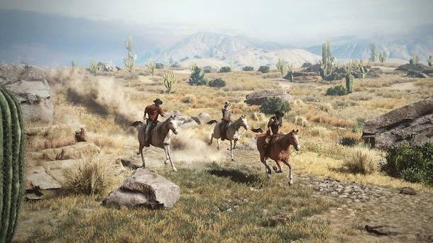 The Cowboy MMO Gets Its First Gameplay Trailer