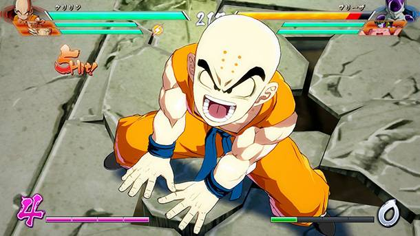 Bandai Namco Releases Collection Of Screens Showing Piccolo And Krillin In Action