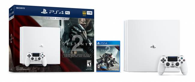Sony's white-hot PS4 Pro debuts with 'Destiny 2' in September