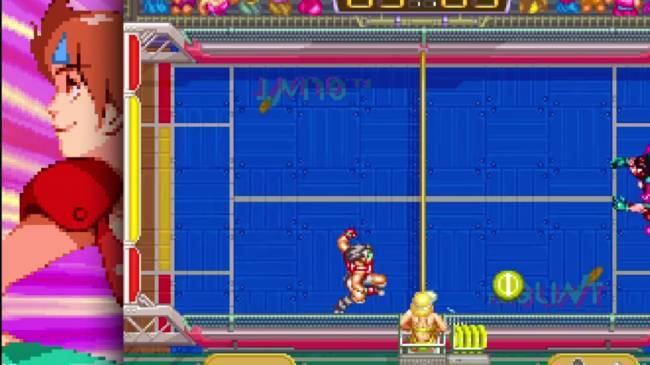 'Windjammers' brings 16-bit frisbee duelling to PS4 and PS Vita