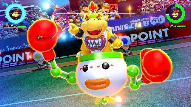 Mario Tennis Aces update will nerf Bowser Jr.