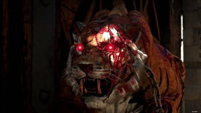 Call of Duty: Black Ops 4's Zombies shows off undead tigers and Titanic gun battles