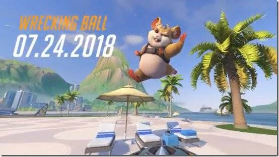 Wrecking Ball Officially Joins Overwatch On July 24, 2018