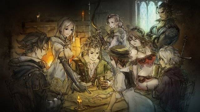 Printable Octopath Traveler Box Art Available on My Nintendo