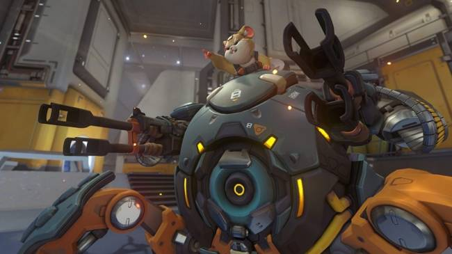 Overwatch's Adorable New Hero Wrecking Ball Goes Live Next Week