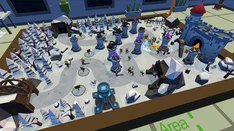 'Castle Must Be Mine' Pairs Tower Defense & Virtual Reality