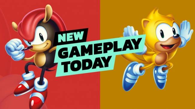New Gameplay Today – Sonic Mania Plus