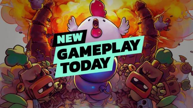 New Gameplay Today – Bomb Chicken
