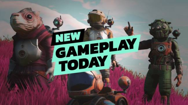 New Gameplay Today - No Man's Sky Next