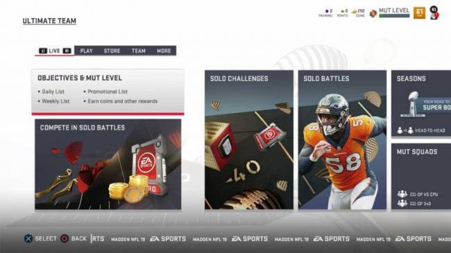Powering Up In Madden 19 Ultimate Team
