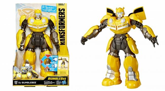 Exclusive First Look At Singing And Dancing DJ Bumblebee Toy