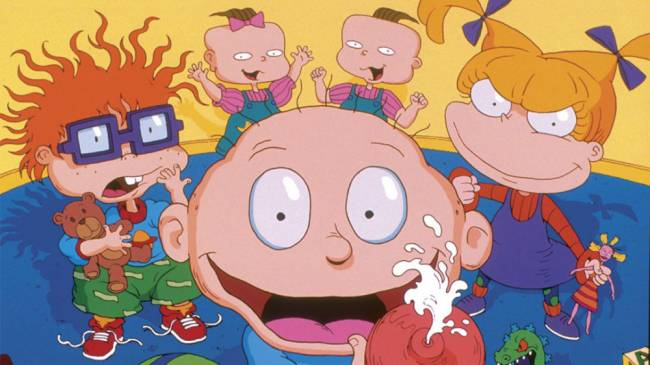 'Hyped' doesn't even cover it for the new Rugrats reboot