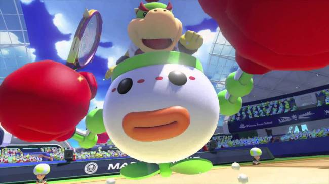 The next Mario Tennis Aces patch includes the Bowser Jr. nerf everyone wants