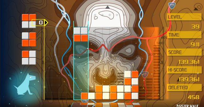 Lumines Remastered out now, offers improved visuals and extra game mode