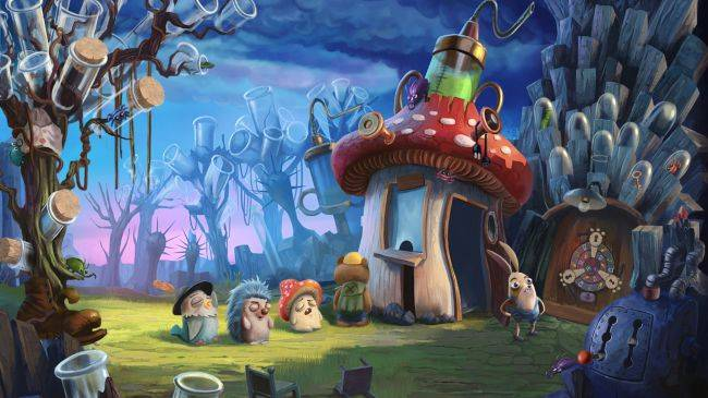 My Brother Rabbit is a surreal point-and-click from Artifex Mundi out later this year