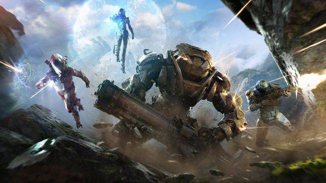 Here's 20 minutes of Anthem gameplay