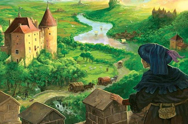 Medieval board game The Castles of Burgundy is getting a videogame adaptation