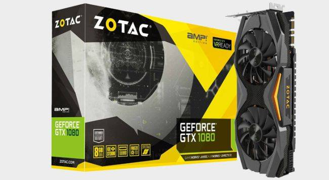 ZOTAC's GTX 1080 AMP Edition is just $490 right now