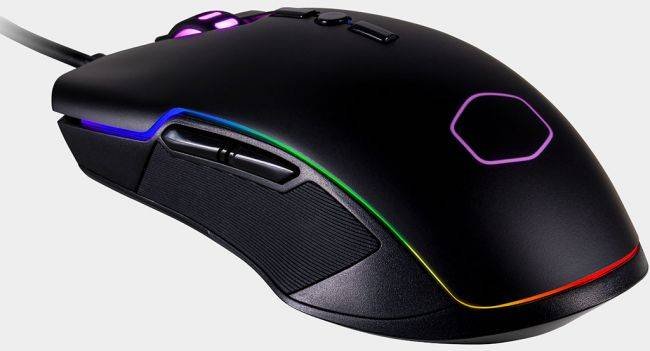 Cooler Master releases an affordable, ambidextrous RGB gaming mouse