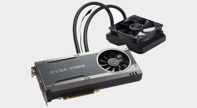EVGA's water-cooled GTX 1080 FTW Hybrid card is just $500 ($109 off) on Amazon