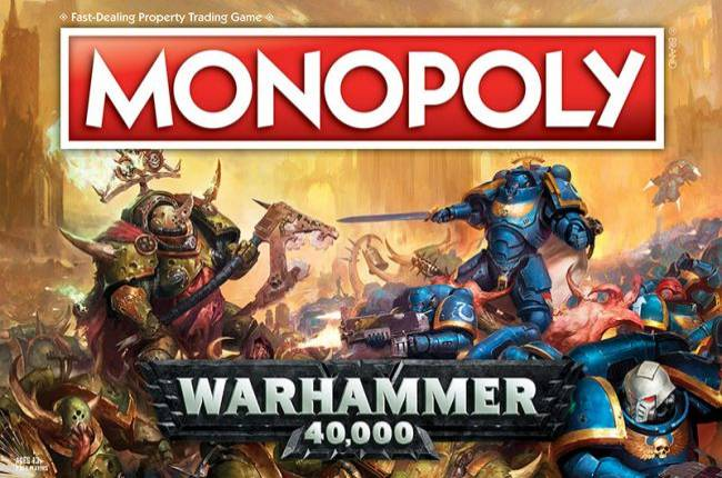 Warhammer 40k Monopoly is a thing now, because of course it is