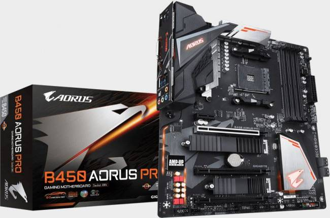 Gigabyte is rebranding its motherboards as AMD B450 boards trickle into retail