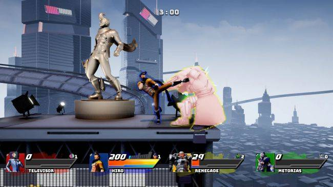 This new fighting game wants to fill the void of Super Smash Bros. on PC