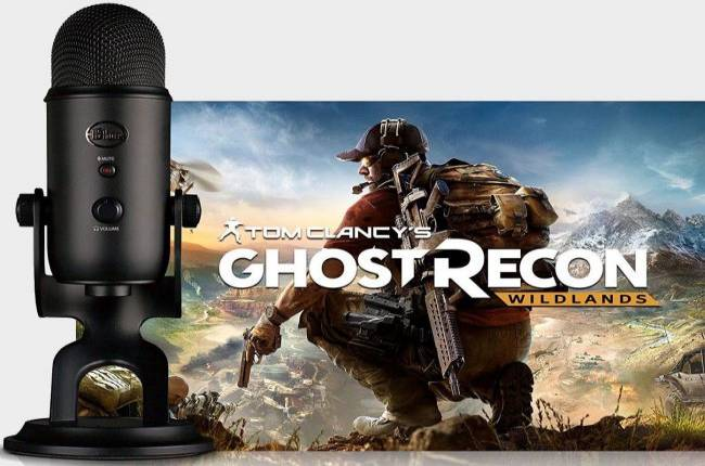 Get a Blue Yeti microphone and Ghost Recon Wildlands for $95