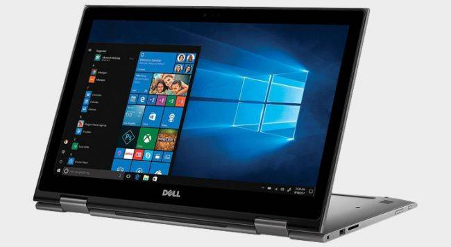 This Dell Inspiron 15 2-in-1 with a Core i5-8250U and 256GB SSD is just $550 today