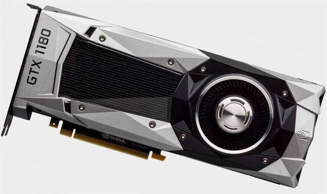 Latest GPU rumor lays out GeForce GTX 1180, 1170, and 1160 launch dates