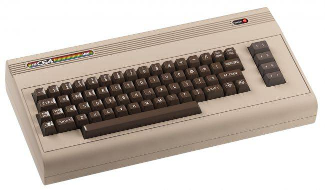 The C64 Mini, with 64 games and BASIC installed, arrives in stores in October